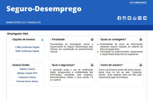 empregador web